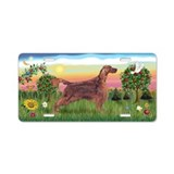BrightCountry-Irish Setter Aluminum License Plate