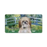Bridge - Shih Tzu (P) Aluminum License Plate