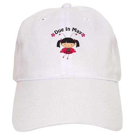 May Ladybug Due Date Cap