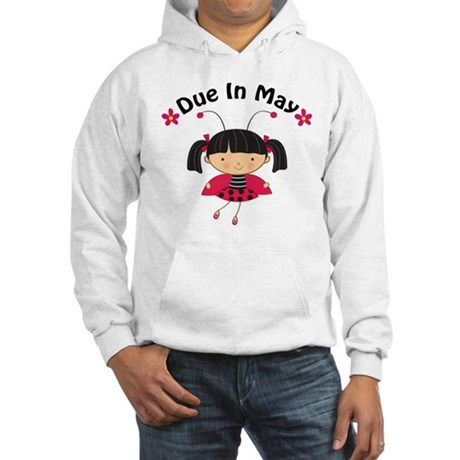 May Ladybug Due Date Hooded Sweatshirt