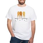 Nothin' Butt Ridgebacks White T-Shirt