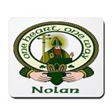 Nolan Clan Motto Mousepad