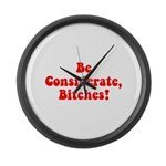 Be Considerate! Large Wall Clock