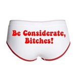 Be Considerate! Women's Boy Brief
