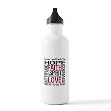 HeadNeckCancer Can't TakeHope Water Bottle