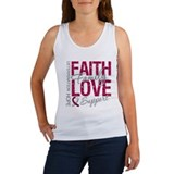 Head Neck Cancer Faith Women's Tank Top