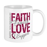 Head Neck Cancer Faith Coffee Mug