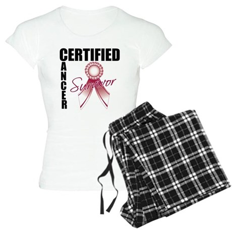 Certified Cancer Survivor Women's Light Pajamas