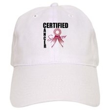Certified Cancer Survivor Baseball Cap