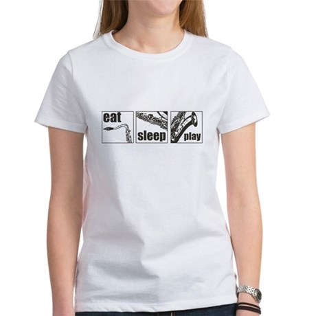 Eat Sleep Play Sax Women's T-Shirt