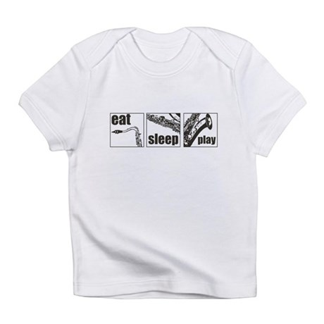 Eat Sleep Play Sax Infant T-Shirt