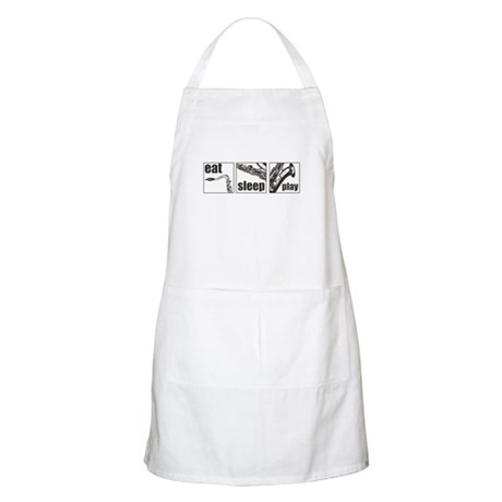Eat Sleep Play Sax Apron