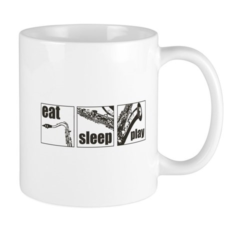 Eat Sleep Play Sax Mug