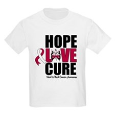 Head Neck Cancer Hope T-Shirt