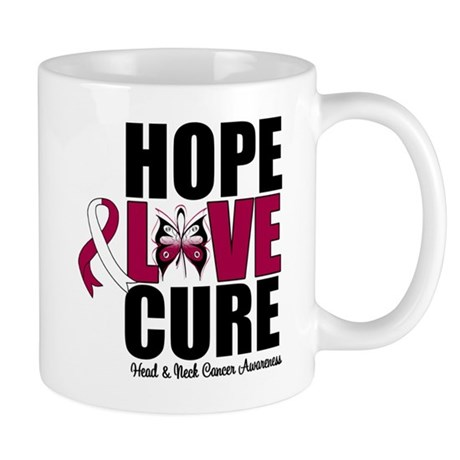 Head Neck Cancer Hope Mug