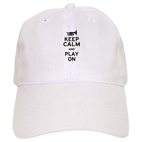 Keep Calm and Play On (Mellophone) Cap