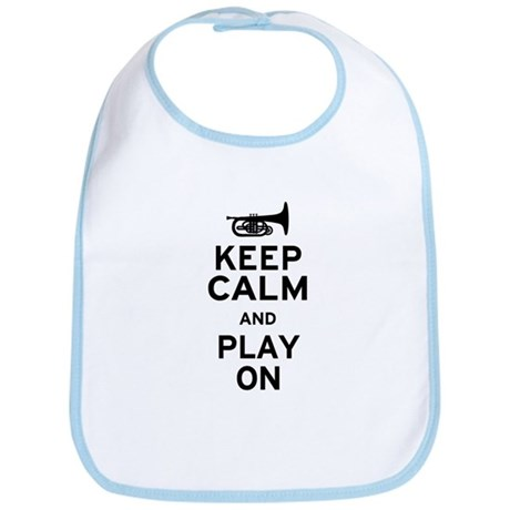 Keep Calm and Play On (Mellophone) Bib