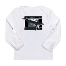 HumpBack Whale Art Long Sleeve Infant T-Shirt