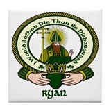 Ryan Clan Motto Ceramic Tile