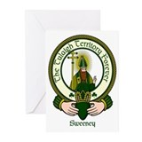 Sweeney Clan Motto Greeting Cards (Pk of 10)