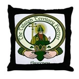 Sweeney Clan Motto Throw Pillow