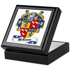 McEwan Coat of Arms Keepsake Box
