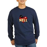 NCIS LA Nell Long Sleeve Dark T-Shirt