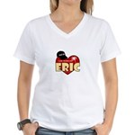 NCIS LA Eric Women's V-Neck T-Shirt