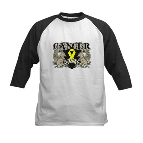 Bladder Cancer Survivor Kids Baseball Jersey