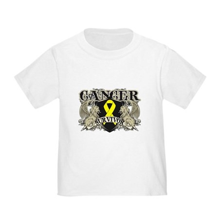Bladder Cancer Survivor Toddler T-Shirt