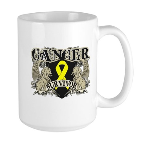 Bladder Cancer Survivor Large Mug
