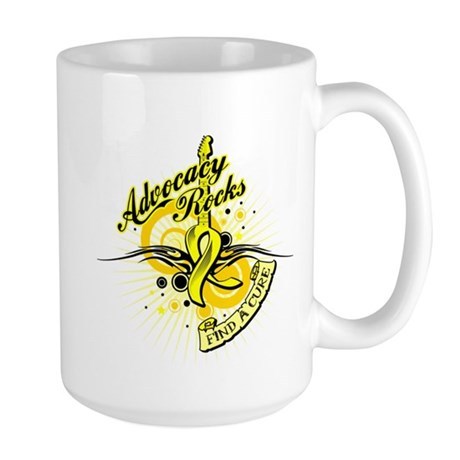 Bladder Cancer AdvocacyRocks Large Mug