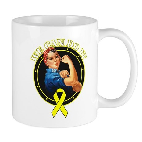 Bladder Cancer We Can Do It Mug