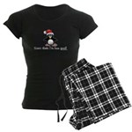 Bad Penguin Women's Dark Pajamas