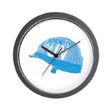UN Helmet Wall Clock