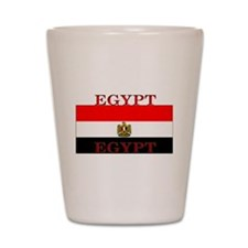 Egypt Egyptian Flag Shot Glass