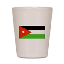 Jordan Jordanian Blank Flag Shot Glass