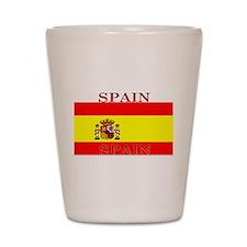 Spain Spanish Flag Shot Glass