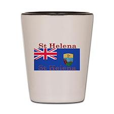 St Helena Shot Glass