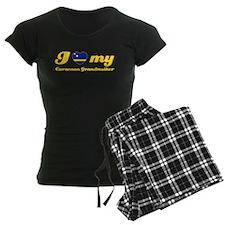 I love My Curacacoan Grandmother Pajamas