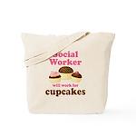 Funny Social Worker Tote Bag