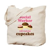 Funny Social Worker Tote Bag