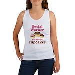 Funny Social Worker Women's Tank Top