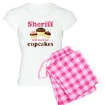 Funny Sheriff Women's Light Pajamas