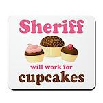 Funny Sheriff Mousepad