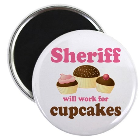 Funny Sheriff Magnet