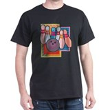 Bowling Black T-Shirt