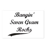 Bangin' Seven Gram Rocks Postcards (Package of 8)
