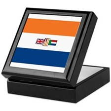 South Africa Flag Keepsake Box