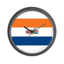 South Africa Flag Wall Clock